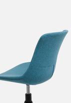 Basics - Rae office chair - turquoise