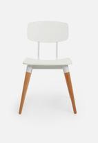 Basics - Charlie chair - white