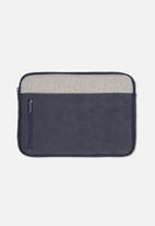 Typo - Take charge 13 inch laptop cover - navy & grey