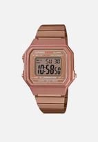 Casio - Digital wrist watch - rose gold