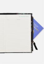 Typo - Travel zip journal - black & green