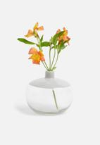 Sixth Floor - Echo glass vase - grey
