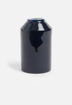 Sixth Floor - Jules vase - navy