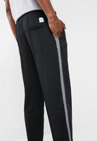 Only & Sons - Race cropped wide leg - black