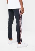 Only & Sons - Ben tape track pants - navy
