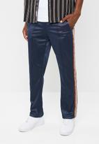 Bellfield - Retro track pants - navy