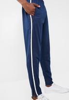 New Look - Basic tricot jogger - blue & white