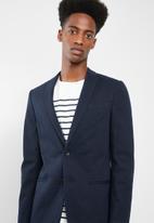 New Look - Pique blazer - navy