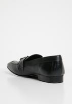 Superbalist - Jaymes leather loafer - black