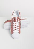 adidas Originals - Superstar w - copper metallic / white