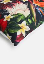 Grey Gardens - Paradise flower cushion cover - multi