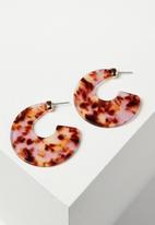 Rubi - Adelaide earrings - pink