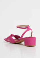 Cherry Collection - Seattle ankle strap heels - pink