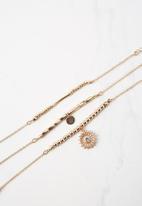 Cotton On - Valetta bracelet - gold