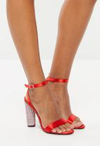 Dolce Vita - Ankle strap heels - red