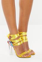 Dolce Vita - Ankle tie heels - yellow