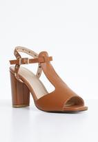 Dolce Vita - Leather heels - tan