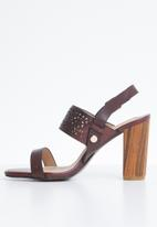 Dolce Vita - Leather heels - burgundy