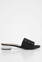 Call It Spring - Mule sandal - black