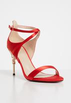 Dolce Vita - Tiffany strappy heels - red