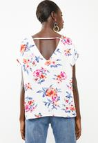 Superbalist - V-neck blouse - white