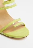 Madison® - Maegan strappy heels - yellow