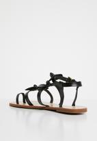 Miss Black - Hania sandals - black
