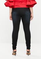 Brave Soul - Plus size Alice 5-pocket jeans - black