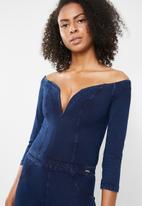 a747ad215c48 Sculpt knit jumpsuit - indigo Sissy Boy Jumpsuits   Playsuits ...