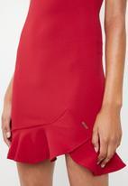 Sissy Boy - Scuba mini dress - red