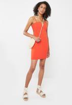 Sissy Boy - V-wire basic club dress - orange