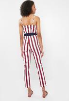 Sissy Boy - Stripe jumpsuit - multi