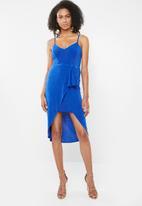 Sissy Boy - Chancer midi dress - blue