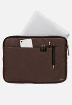 Typo - Core laptop cover  -  brown
