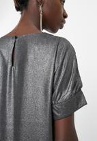 Vero Moda - Bam short sleeve top - black