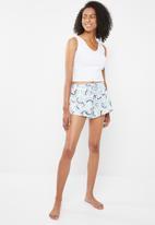 Cotton On - Match back frill shorts - multi