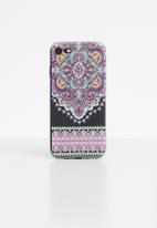 Hey Casey - Mandala phone case - purple
