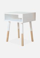 Simply Child - Kids bedside table - white