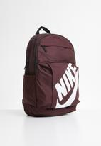 Nike - Elemental backpack bag - burgundy