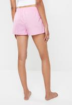 Cotton On - Bedtime shorts - pink