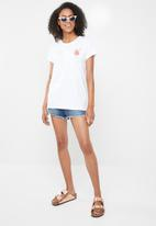 Cotton On - Tbar fox graphic T-shirt - white