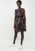 ONLY - Sabelle lia lace sleeveless dress - black