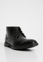 Superbalist - Dave lace-up boot   desert - black