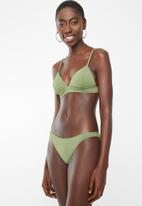 Billabong  - Sol searcher tropic bikini bottom - green