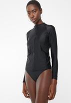PIHA - Long sleeve rashguard - black