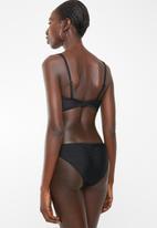 PIHA - Gathered brazilian bottom - black