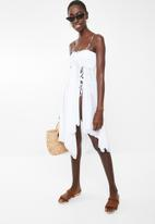 Sun Love - Two-way cover-up dress - white