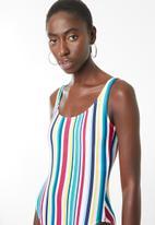 Sun Love - Candy stripe timeless one piece - multi