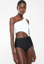 MSH - Summer waters monokini - black & white