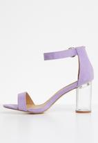 Madison® - Ankle strap heels - purple